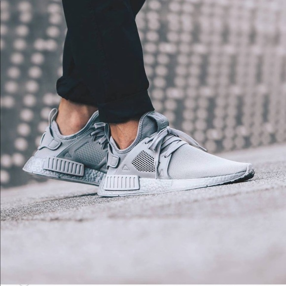 san francisco d11c6 638d4 Adidas NMD XR1 Triple Grey